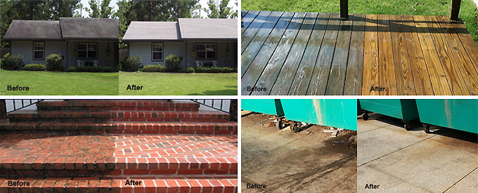 High Pressure Washing Softwash Is Better For Exterior